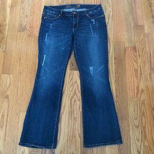 SEVEN7 | Embellished Wide Leg Jeans